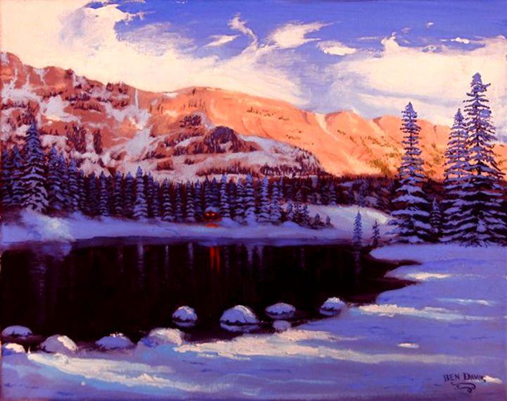 Afternoon Winter - Benjamin Davis