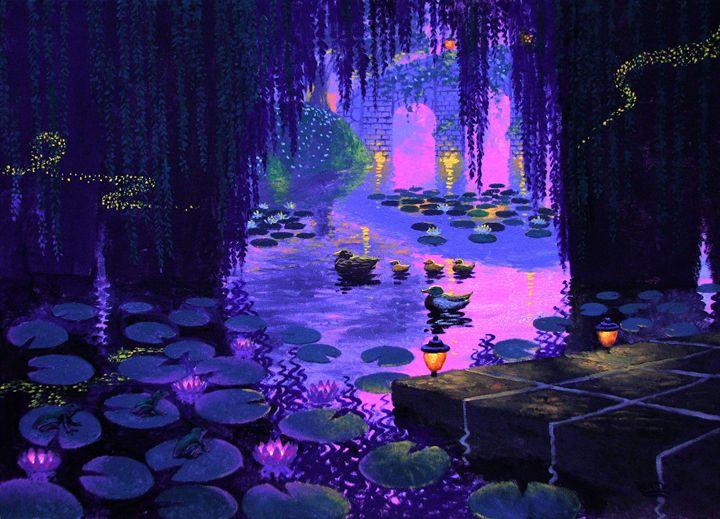 Magic Bridge Evening - Benjamin Davis