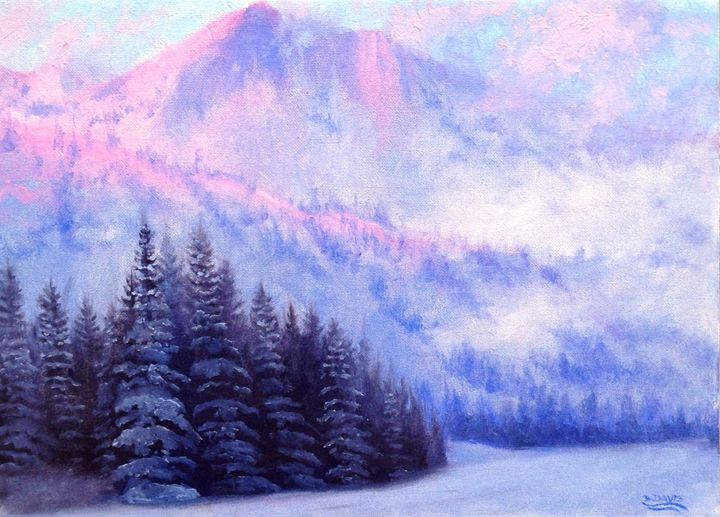 Snow On The Mountain - Benjamin Davis