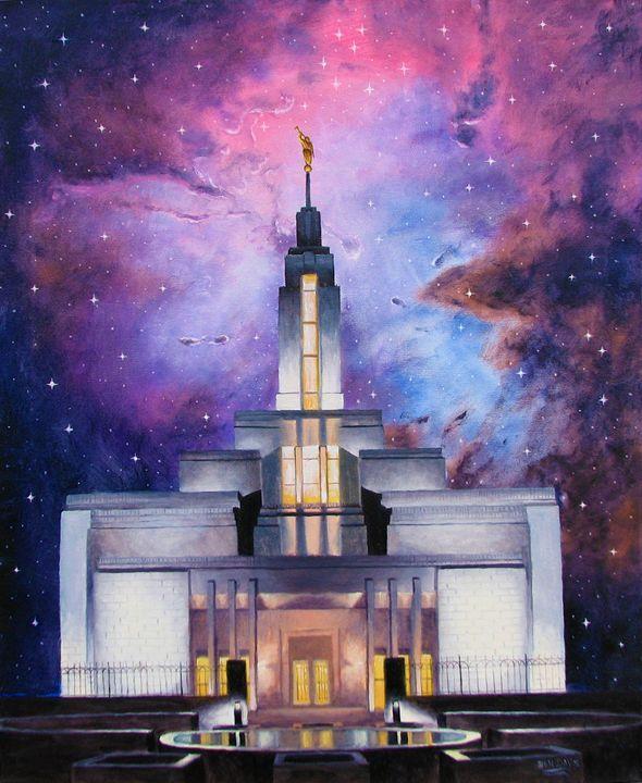 Between Heaven And Earth: The Temple - Benjamin Davis