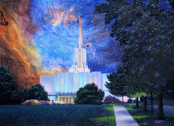 Jordan River Temple Connect Heaven - Benjamin Davis