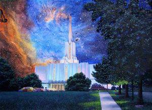 Jordan River Temple Connect Heaven