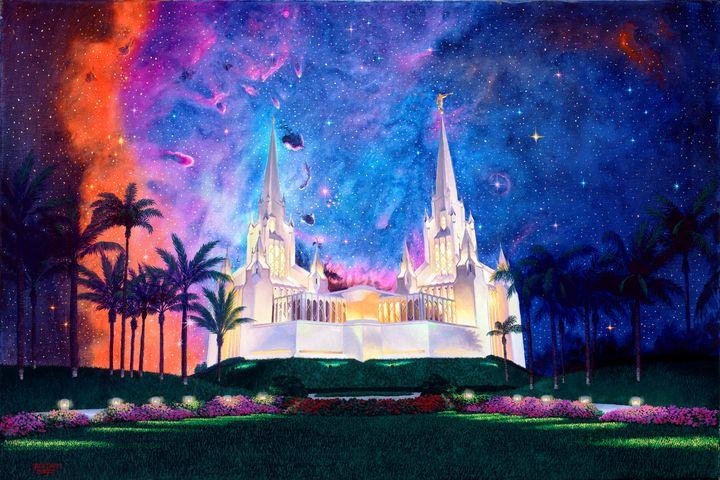 Btw Heaven, Earth: San Diego Temple - Benjamin Davis