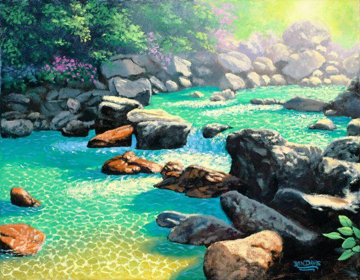 Pure Water Pool Rocks - Benjamin Davis