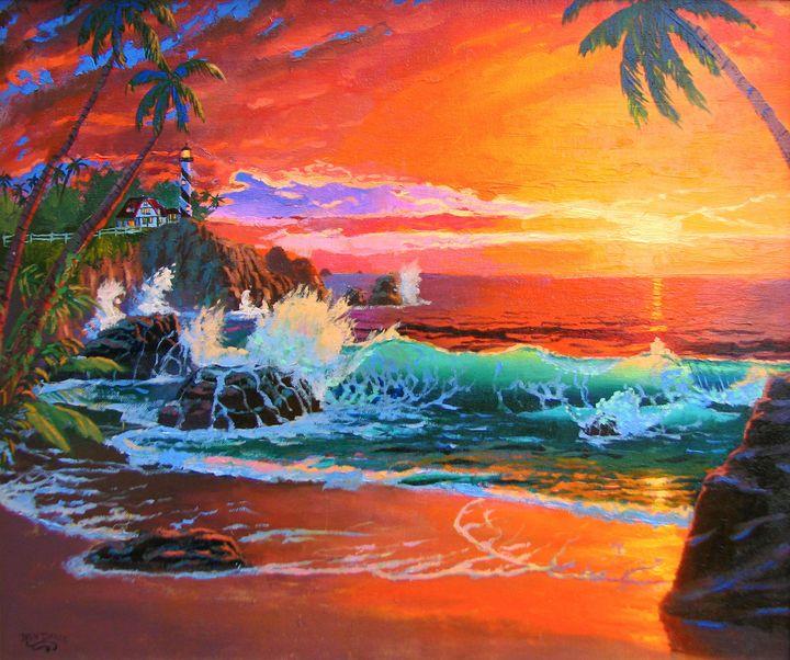 Hawaii Beach - Benjamin Davis