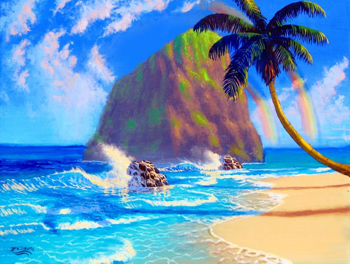 Paradise Beach - Benjamin Davis