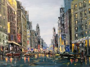 The city lights - DolgorArt