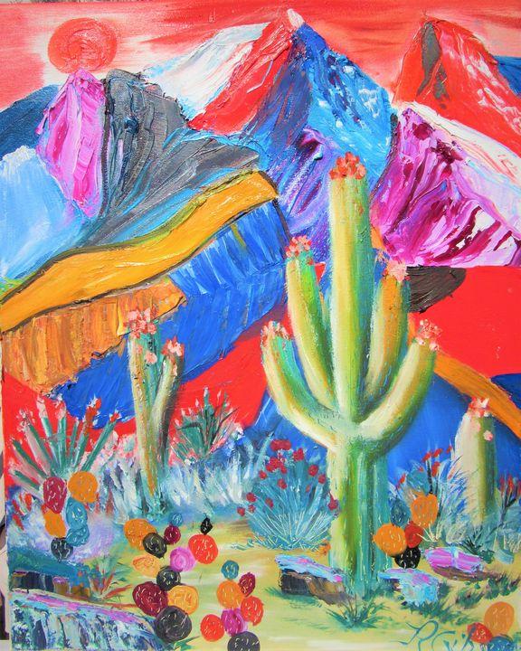 Desert Beauty - HEALING ART ROXANNE GIBSON