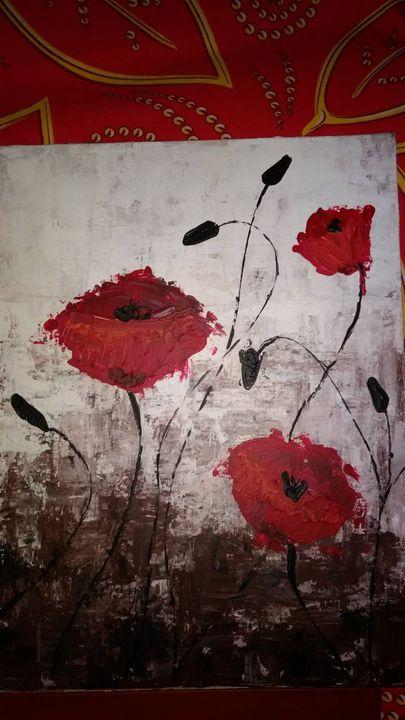 Pretty poppies - Surinder