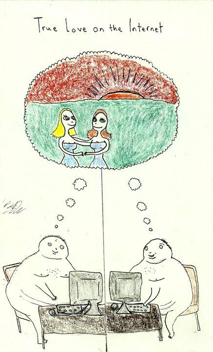 true love on the internet - Erik Rogers