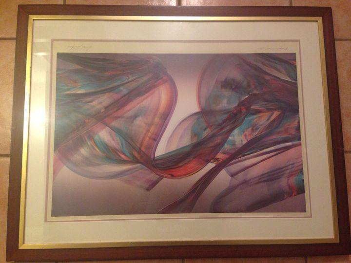 Purple Tide II - Michael John March - pagenation