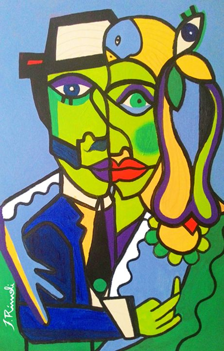 The Couple - Felipe Rímoli Art Gallery