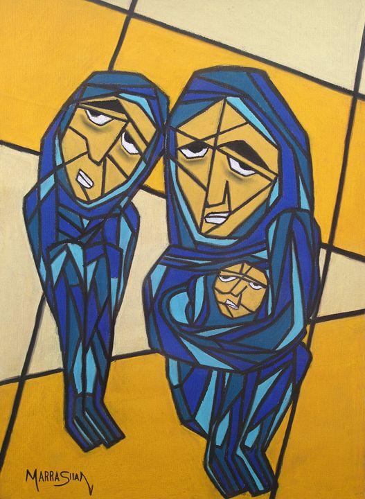 refugees - Felipe Rímoli Art Gallery