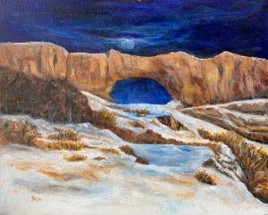 Winter Under the Arch