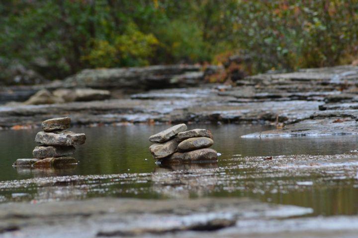 Towering rocks - Mountains of Arkansas