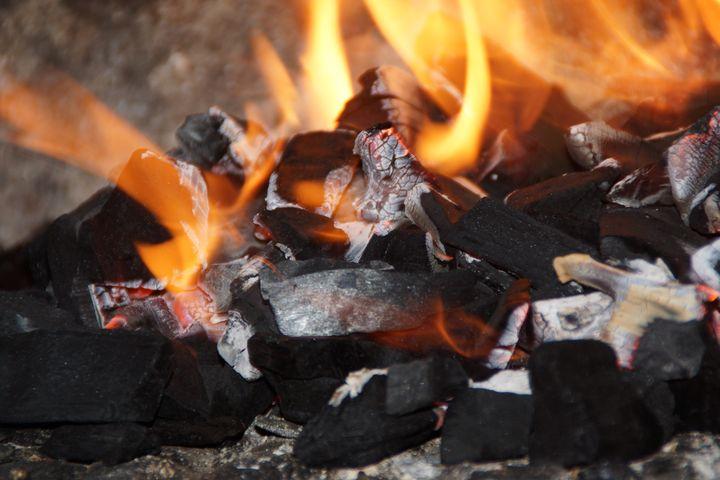 FLAMES, COAL AND EMBERS - Karine P