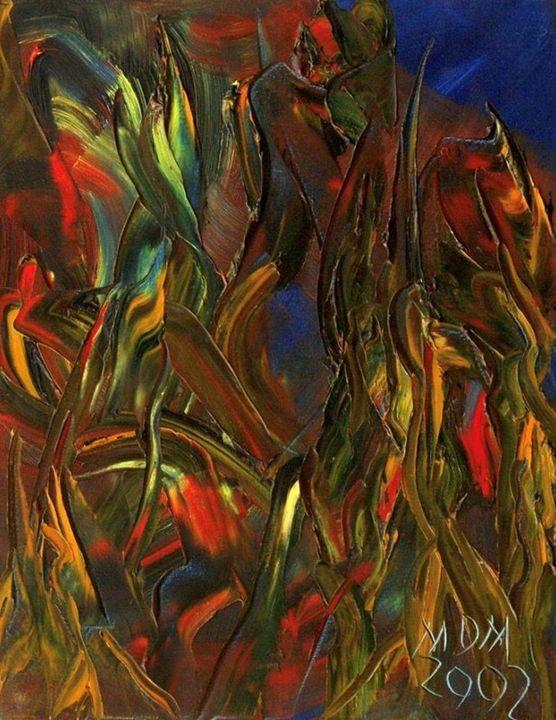 Papagayos en acción - Miguel Oscar Menassa