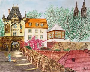 Leisure Stroll In Meissen, Germany