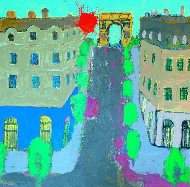 Champs-Elsees - La Famis Art