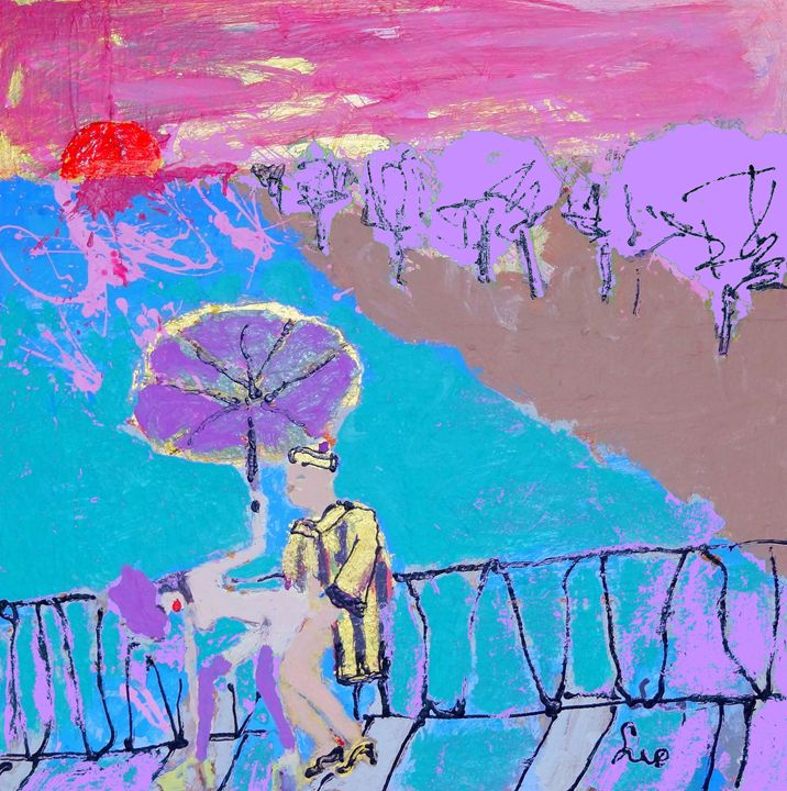 spring in China - La Famis Art