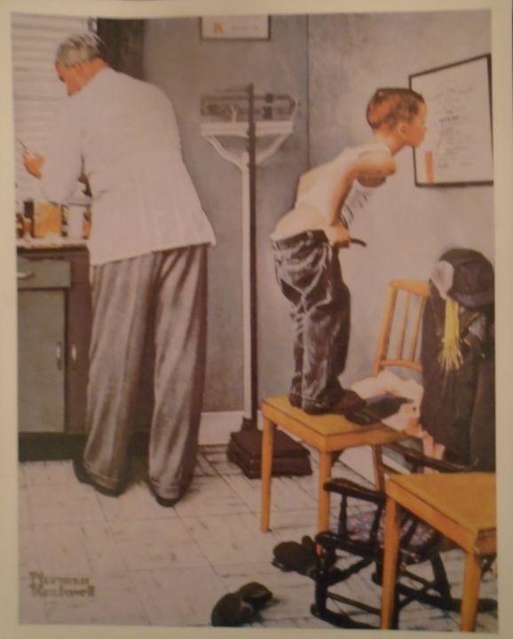 Norman Rockwell Vintage Art Print - Wynn Legacy House Art Gallery
