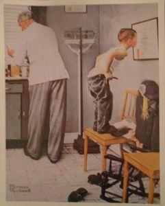 Norman Rockwell Vintage Art Print