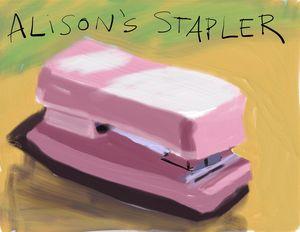 Alison's Stapler