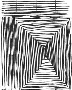 Hallways and Fences - by Alison Gelbman