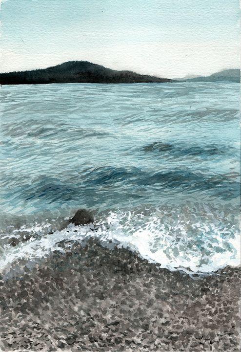Waves and rocks - Maho's Gallery