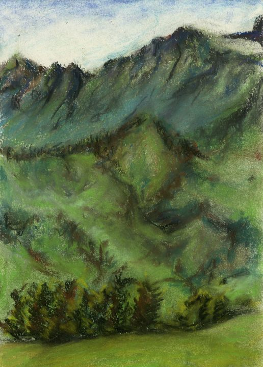 Mountains - Maho's Gallery