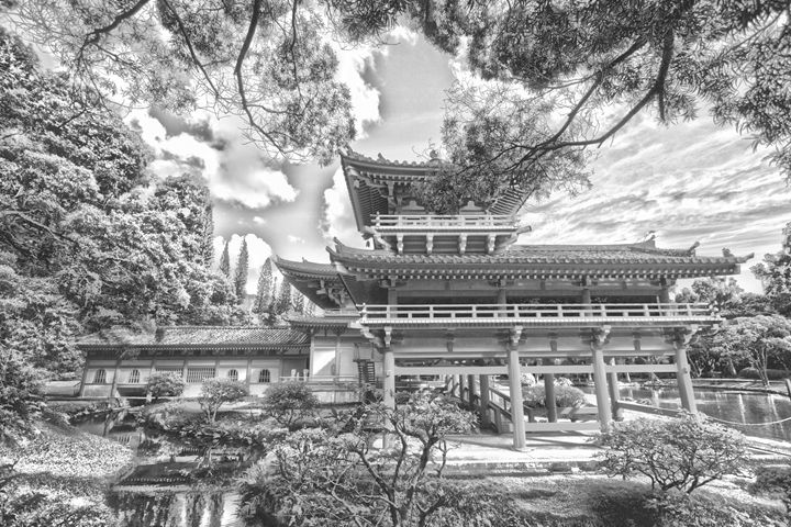 Byodo-In Buddhist Temple - Flat Owl Photography