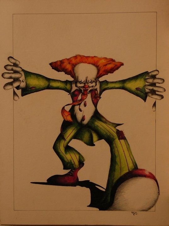 Here Come the Clowns - Dooley Art