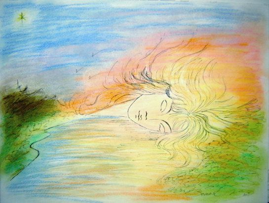 Sleep - M.B in colors and in words