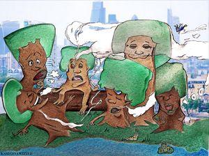 Smoking Trees: City Life