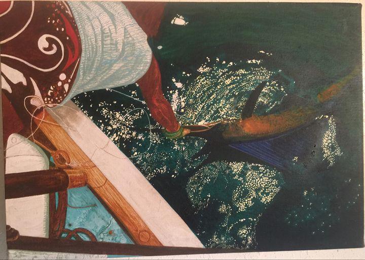 Sailfish Landing, Acapulco Mexico - Mystery Artist