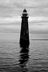 Eerie Lighthouse