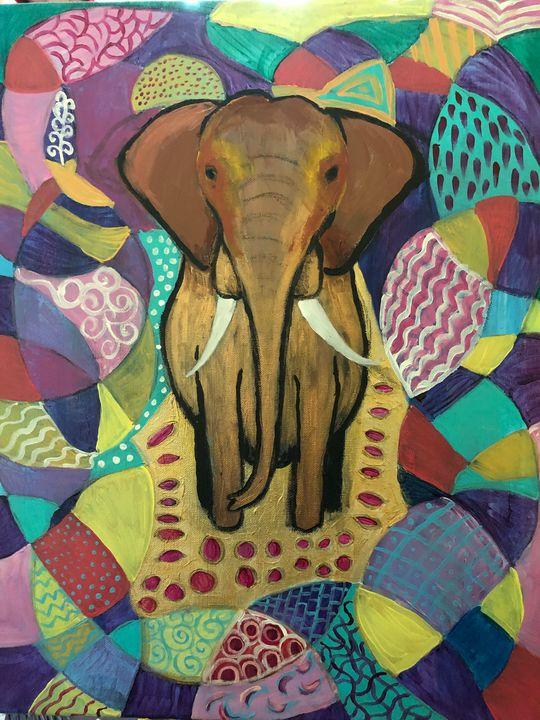 Elephant - Ellie Varro