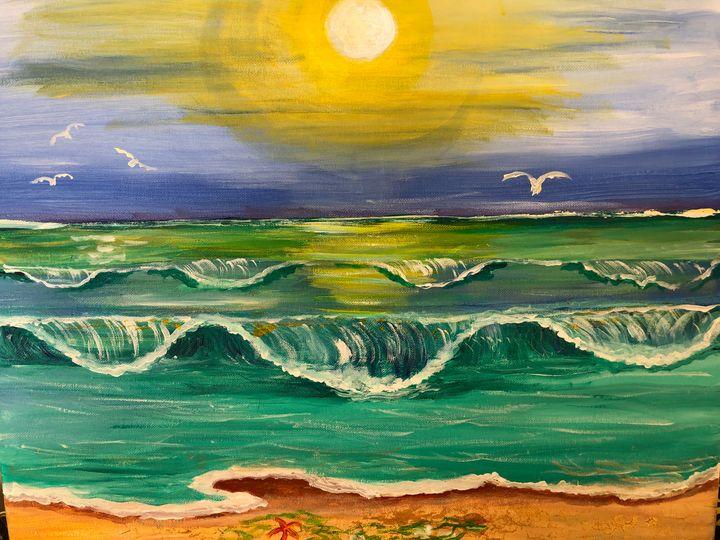 Seascape No. 2 - Ellie Varro