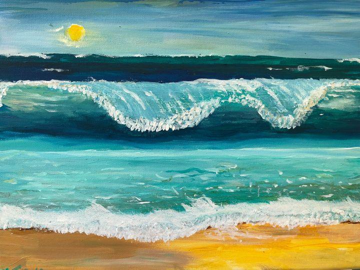 Seascape. PTSD Survivor. - Ellie Varro