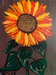 Sunflower: PTSD Survivor