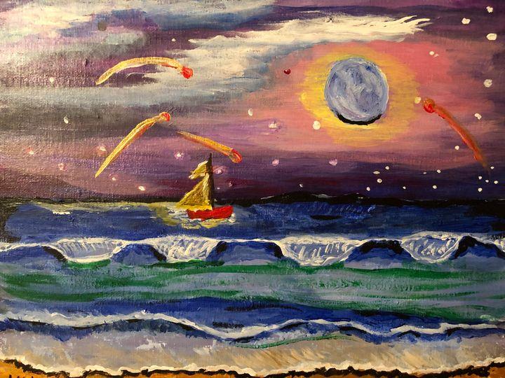 Red Boat - Ellie Varro