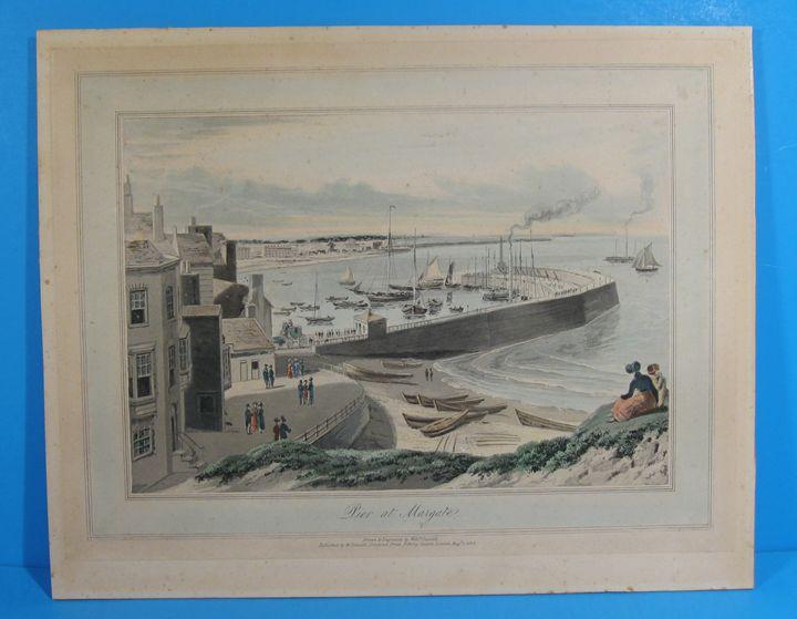 Pier at Margate by William Daniell - Robin Lynn
