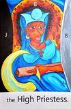 the High Priestess. / tarot card / 3