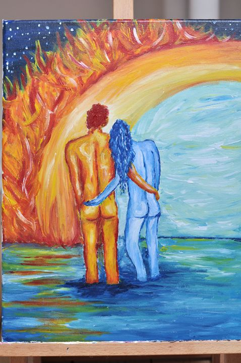 Love through fire and ice - Sophie's Imagination