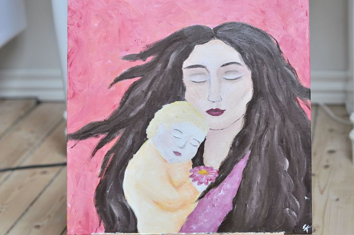 Mother and daughter - Sophie's Imagination