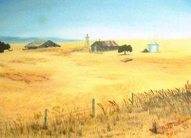 California Farm #8201 - Wood-N-Acres Studio