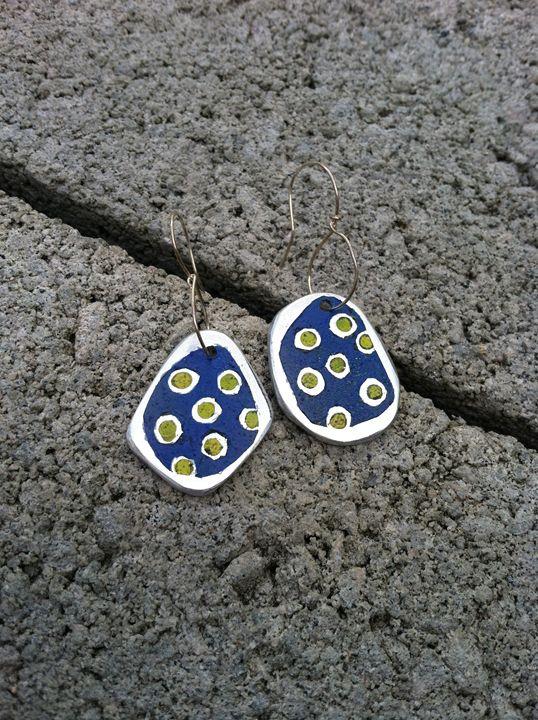 Aluminum earrings - Pulze Studio
