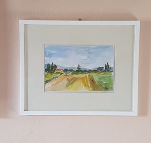 Little countryside watercolour