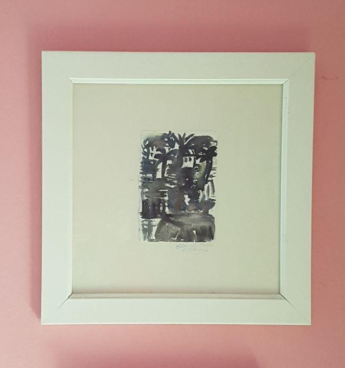 Palm trees - ART Prints, paintinga & drawings