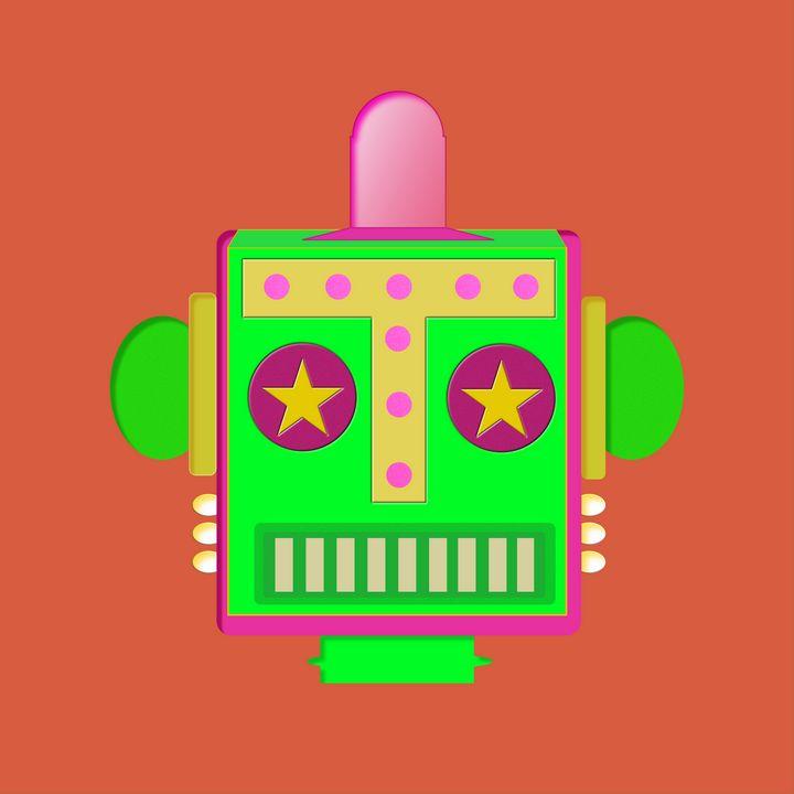 Head Bot CNDY GREEN#02 - damani damani